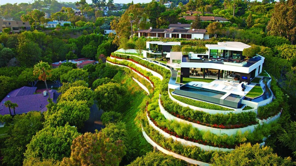 Exclusive Elegant Luxury Laurel Way Modern Home in Los Angles by Mark Whipple