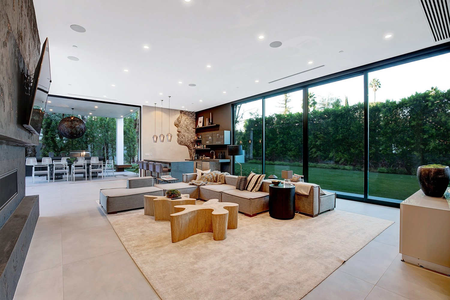 Gorgeous Great Room, Modern Living Room