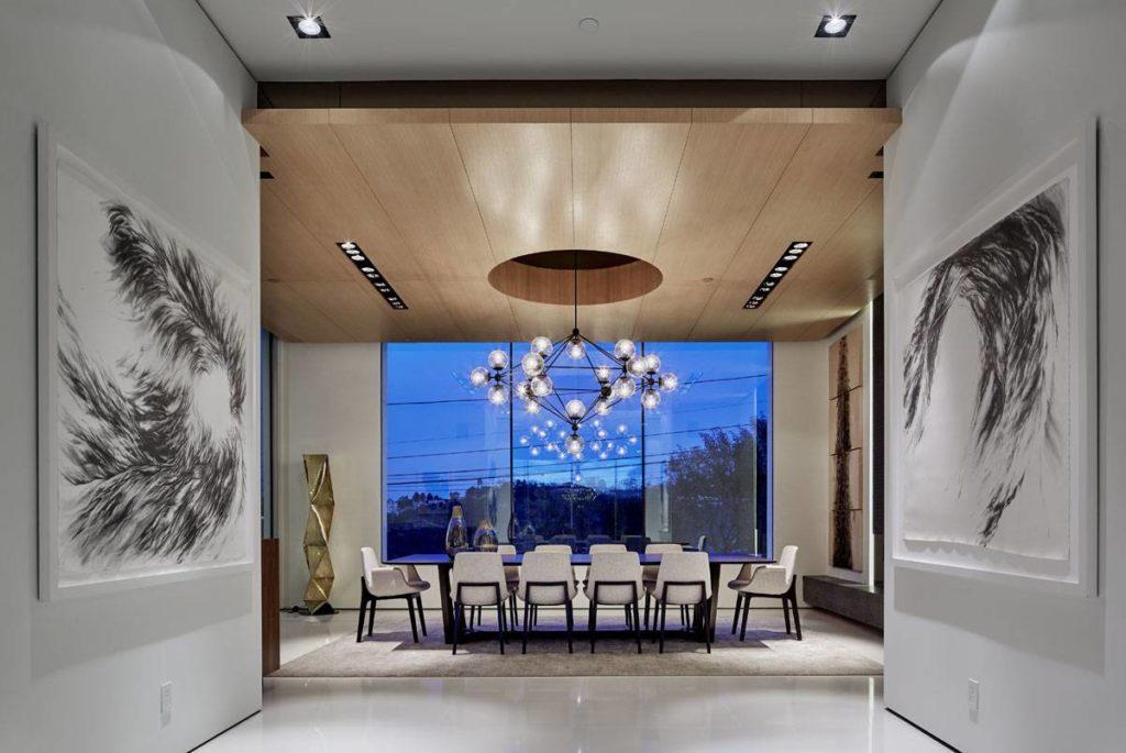 Bel Air modern home, luxury houses