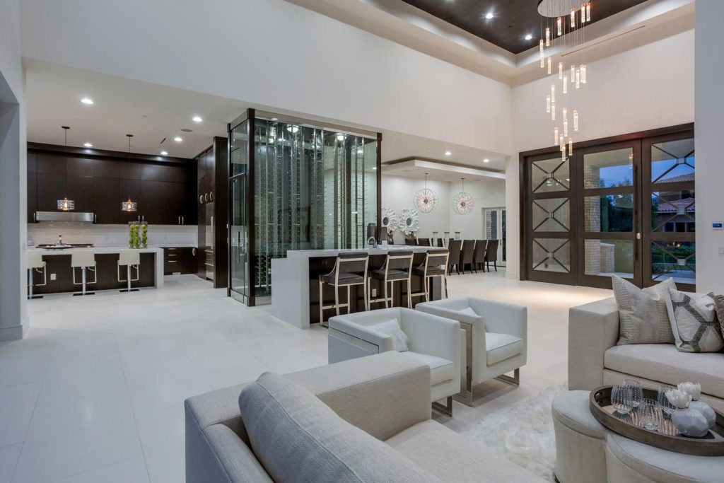 custom home in Las Vegas, luxury houses