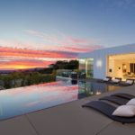 Sublime Chalette Drive Modern Home in Los Angeles with endlessly views
