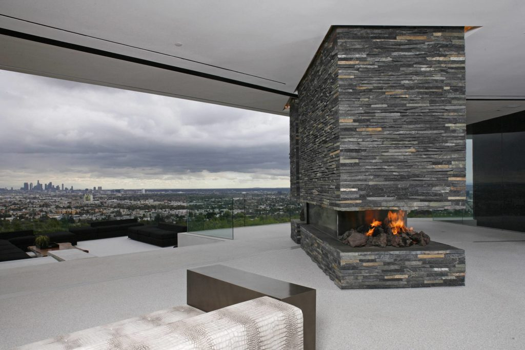 Hollywood Hills Modern Home, luxury houses