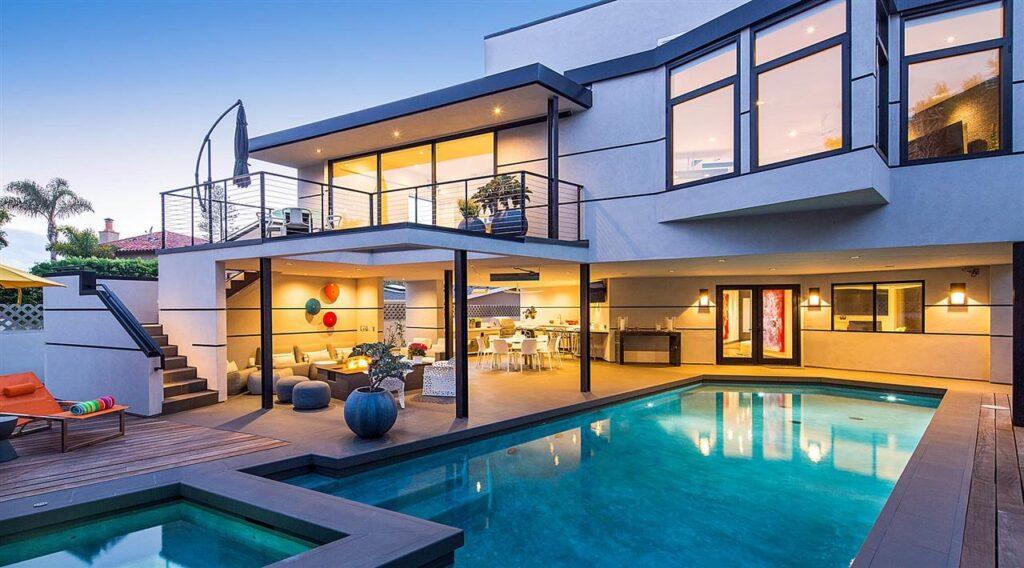 Stunning architectural designed Tolita Avenue Modern Home in Coronado, California