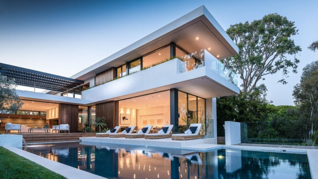 Palisades Riviera Modern Home, luxury houses