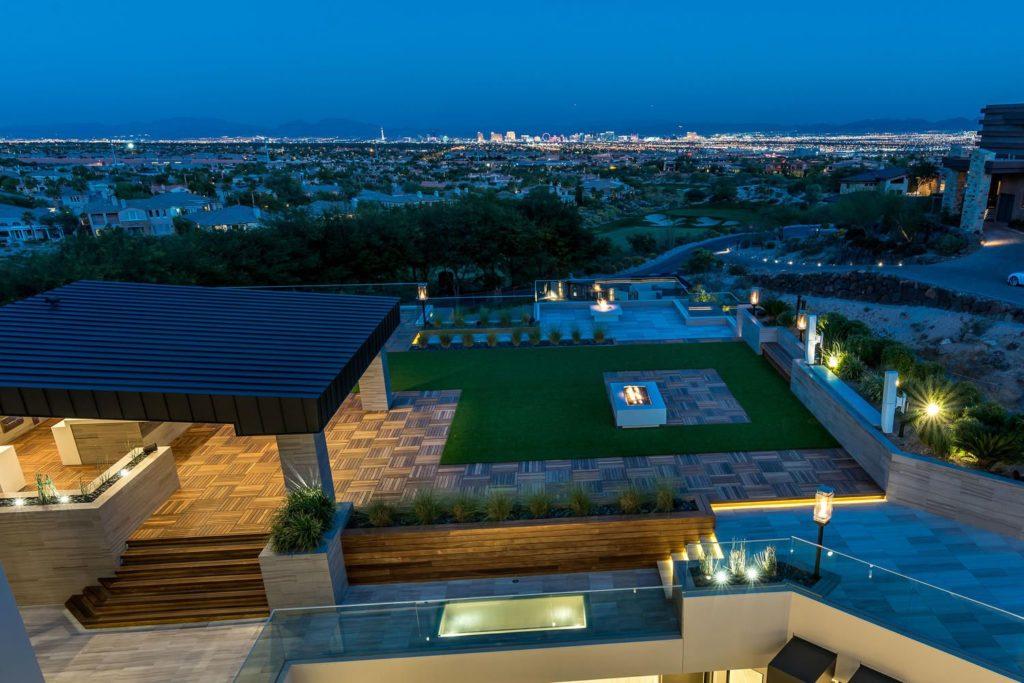 Modern Mansion in Las Vegas, luxury houses