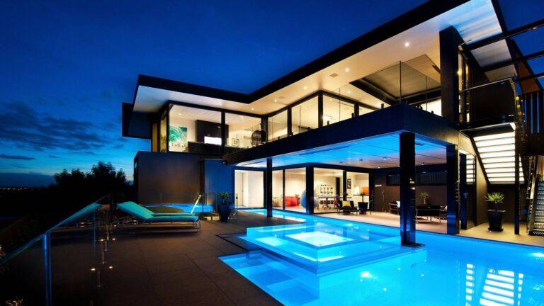 Wandana Residence in Victoria, Australia by James Deans & Associates, luxury houses