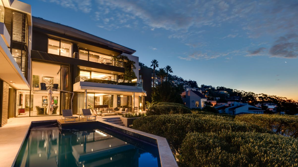 Spectacular Moon Dance Villa with Incredible Views in Cape Town by SAOTA