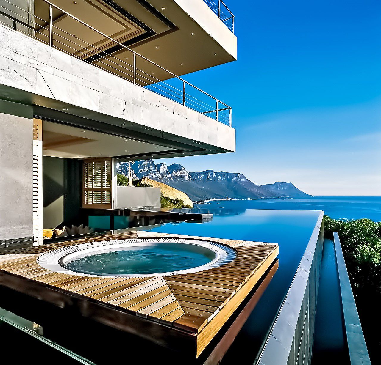 Luxury Saint Leon Villa in Cape Town, South Africa by SAOTA