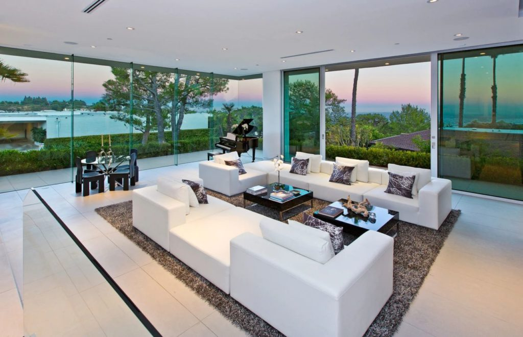 luxury houses, modern homes, Beverly Hills Contemporary