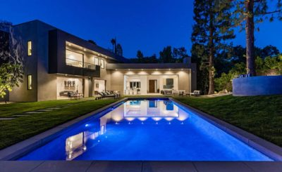 Modern Home in Bel Air, luxury houses