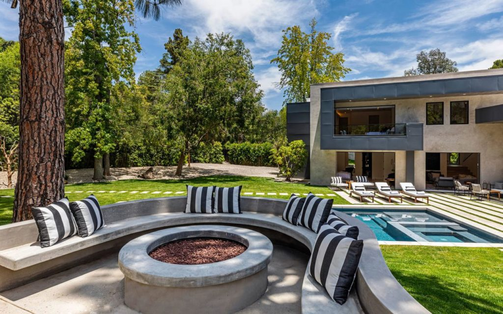Modern Home in Bel Air, luxury houses