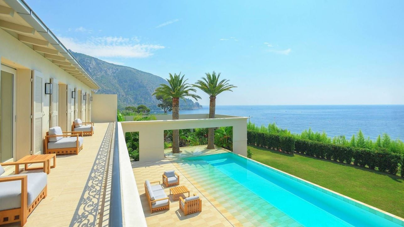 luxury house, modern home, French Riviera Dream Villa