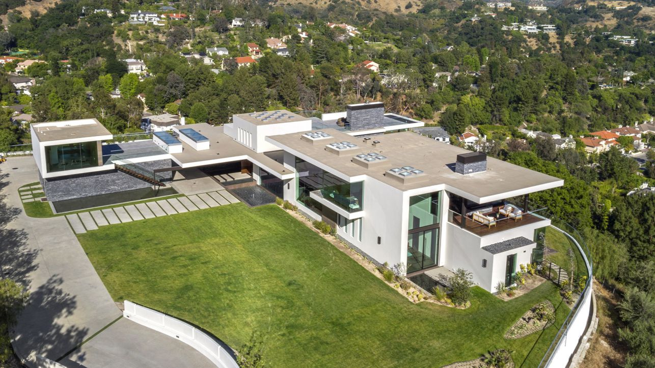 luxury house, modern home, Beverly Hills modern home