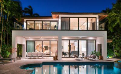 Miami Beach Modern home, luxury house