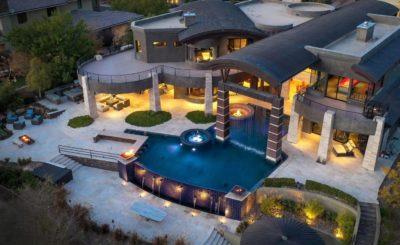 Modern Masterpiece in Las Vegas, luxury house