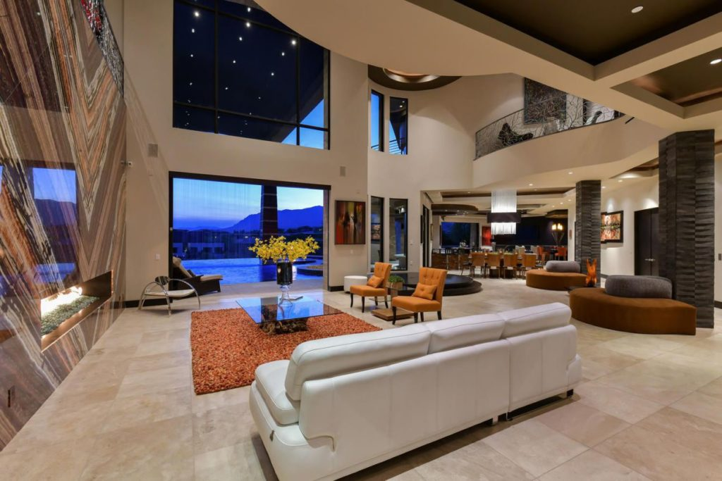 Modern Masterpiece in Las Vegas, luxury house