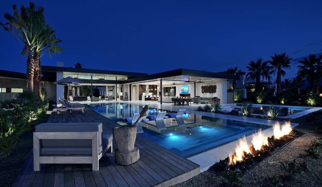 Modern Home Amundsen Avenue in La Quinta by Hudgins Design Group