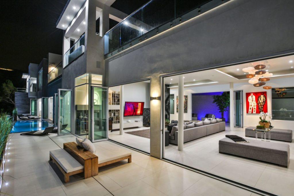 Hollywood Hills Modern Home, luxury house, modern home