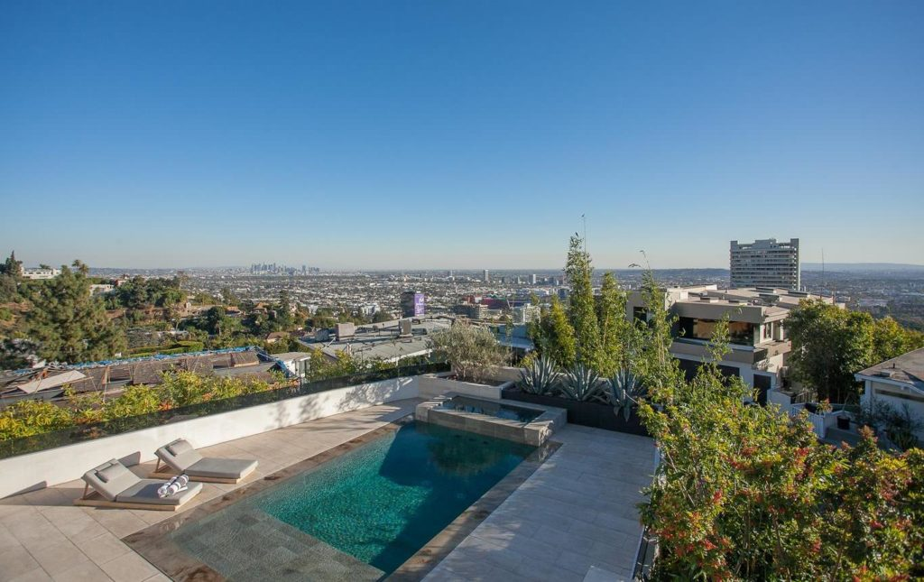 Hollywood Hills home, luxury house