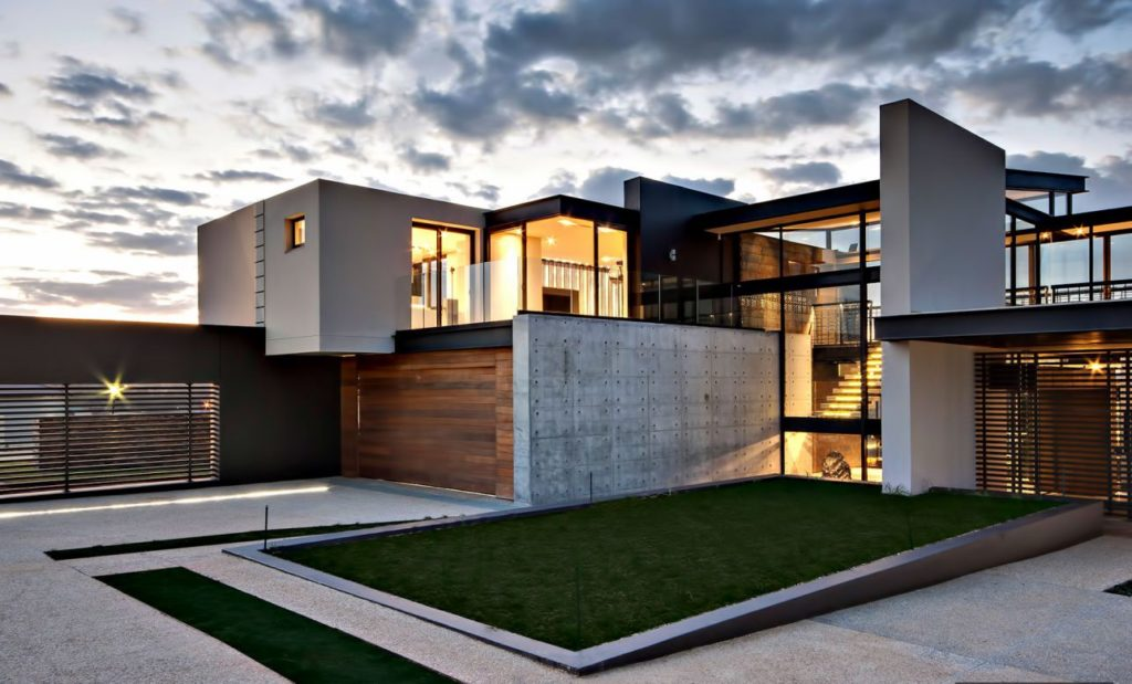 luxury residence, modern homes
