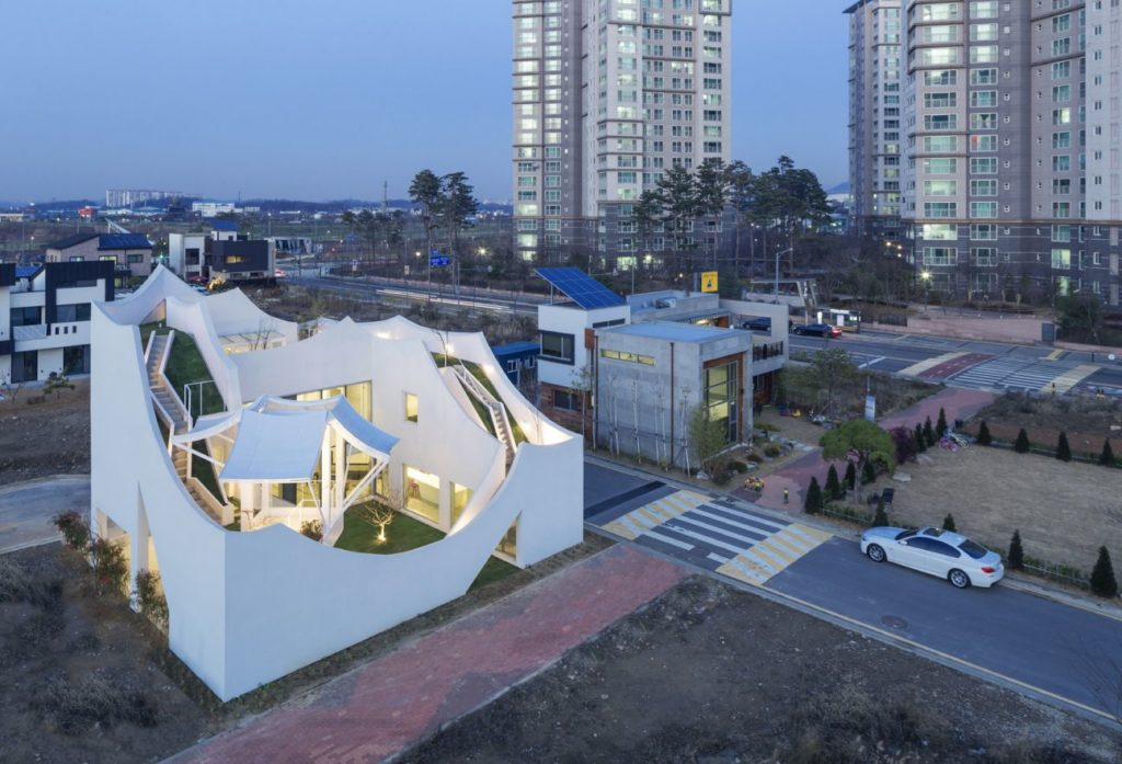House in South Korea, luxury house