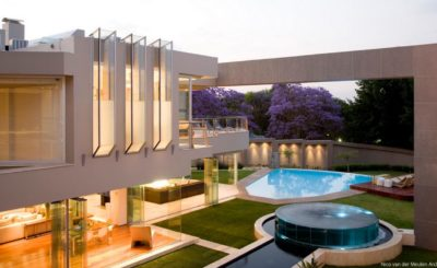 Glass House in South Africa, luxury house