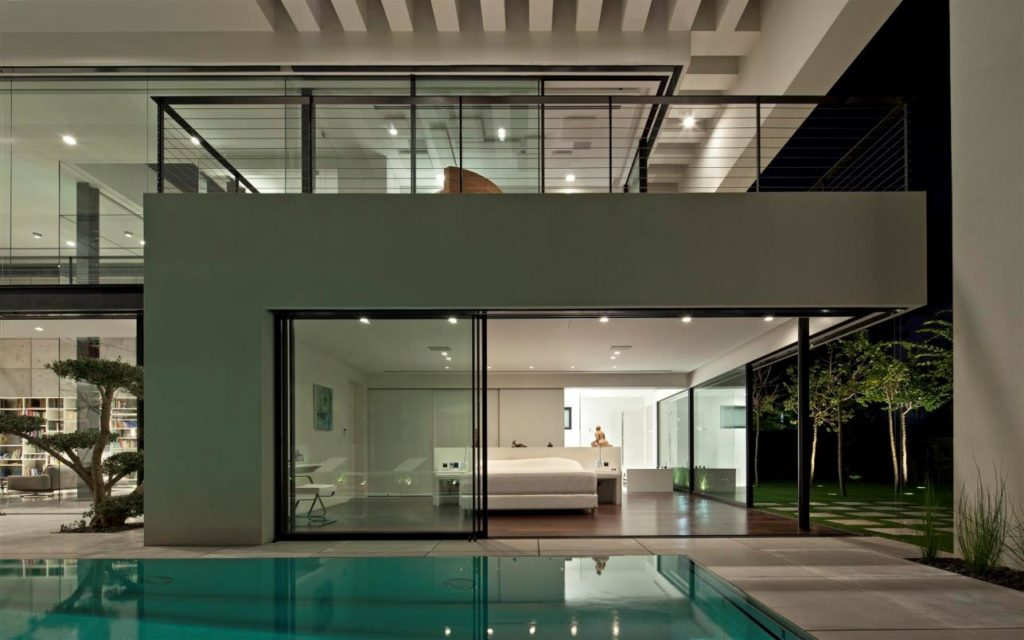 luxury house, Modern House in Israel