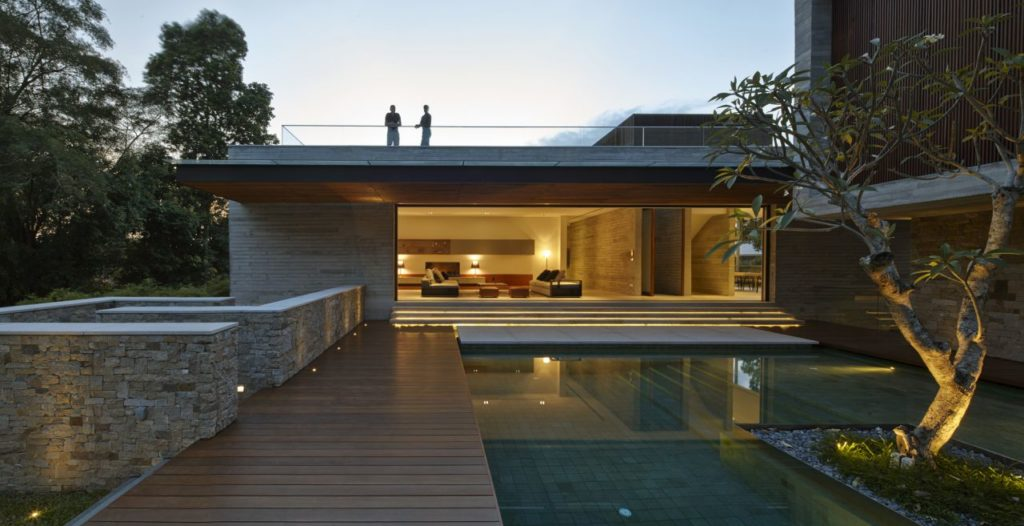 Modern Home in Singapore, luxury house