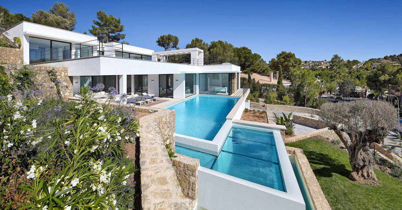 luxury houses, modern homes, spanish villas, Mallorca Luxury Villa