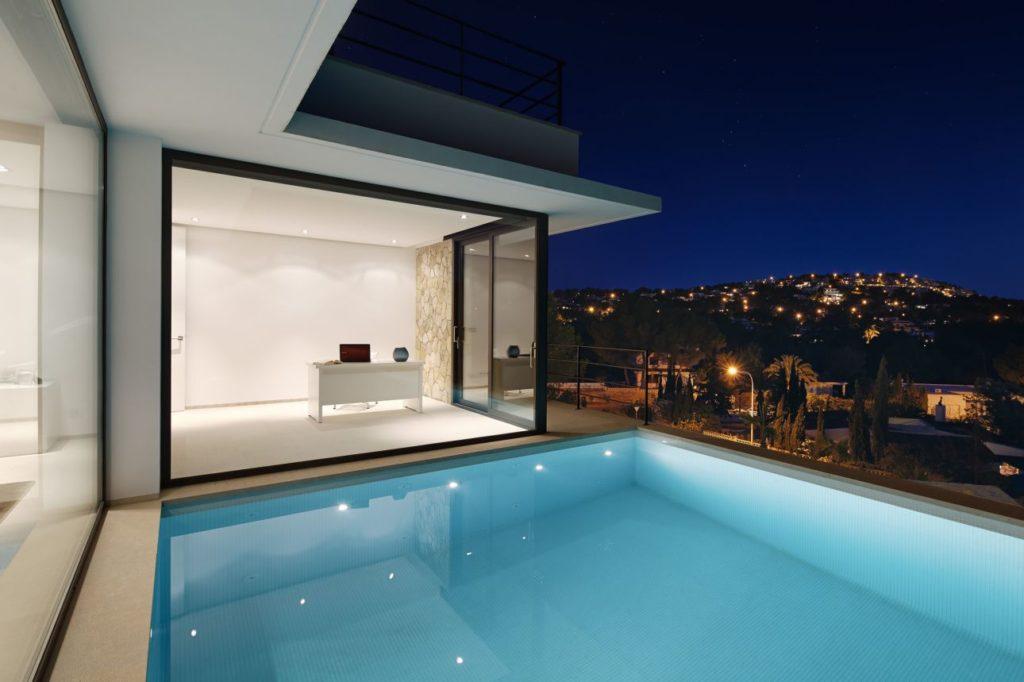 luxury houses, modern homes, spanish villas