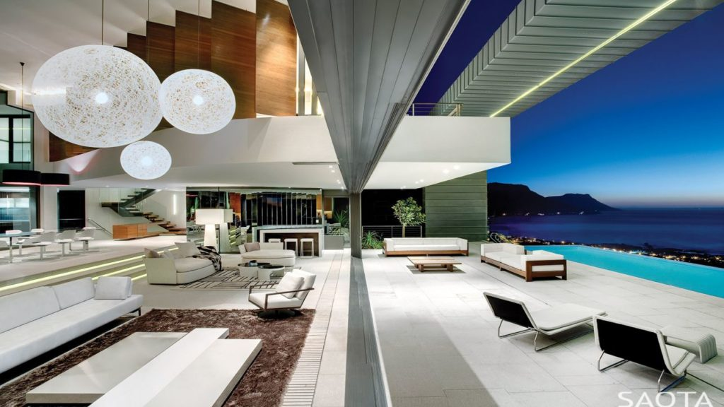 luxury house, modern home, african homes, saota, Villa in South Africa