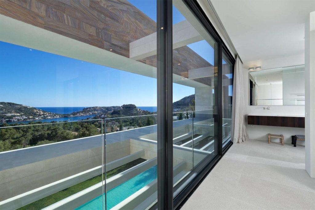 luxury house, Modern Villa with Sea Views