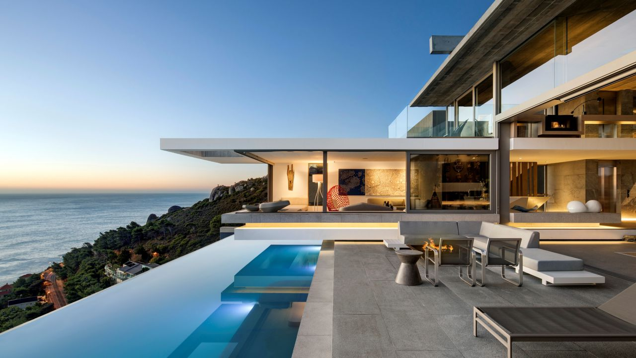 luxury house, modern homes, African homes, SAOTA, Modern Home in Cape Town
