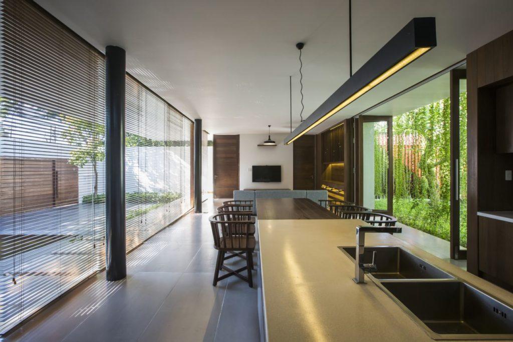 house in vietnam, luxury house