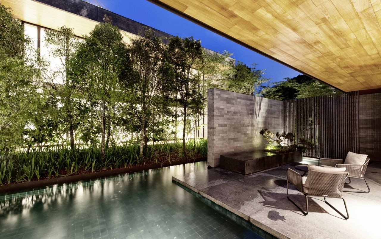 The Wall House in Singapore by FARM