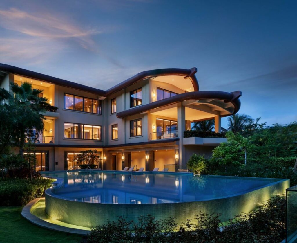 Villa in China, Luxury house
