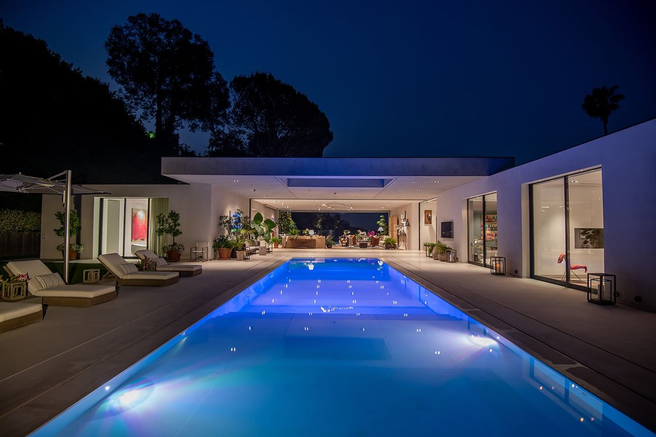 $29,500,000 Beverly Hills Modern Masterpiece with Beautiful City Views