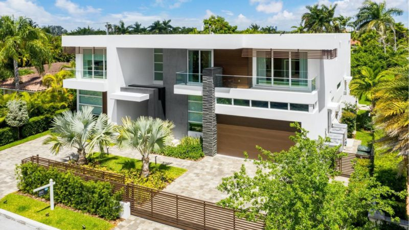 Bay Harbor Islands Home with Masterfully Designed Open Layout