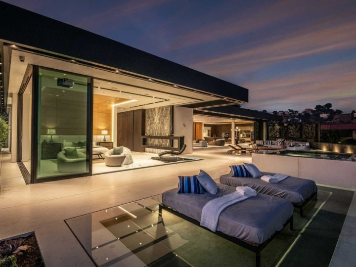 $18,895,000 Brand New Sunset Strip Modern Home Hits The Market