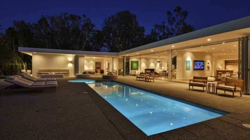 Beverly Hills Mid-Century Contemporary by Renowned Designer Trip Haenisch