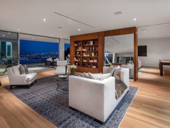 Hercules Drive Home Boasts Sweeping Views from Downtown to The Ocean