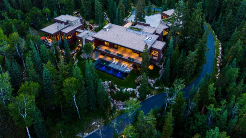 An Ultra Private and Gated Residence in White Pine Ranches Listed for $16,450,000