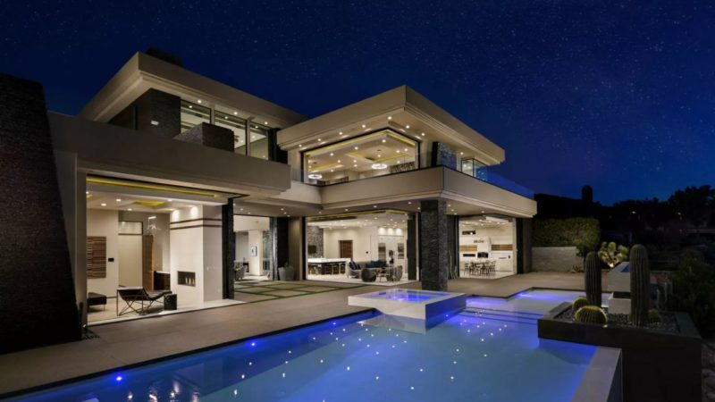 On The Market – An Astonishing Modern Home in Henderson, Las Vegas Listed for $5,000,000
