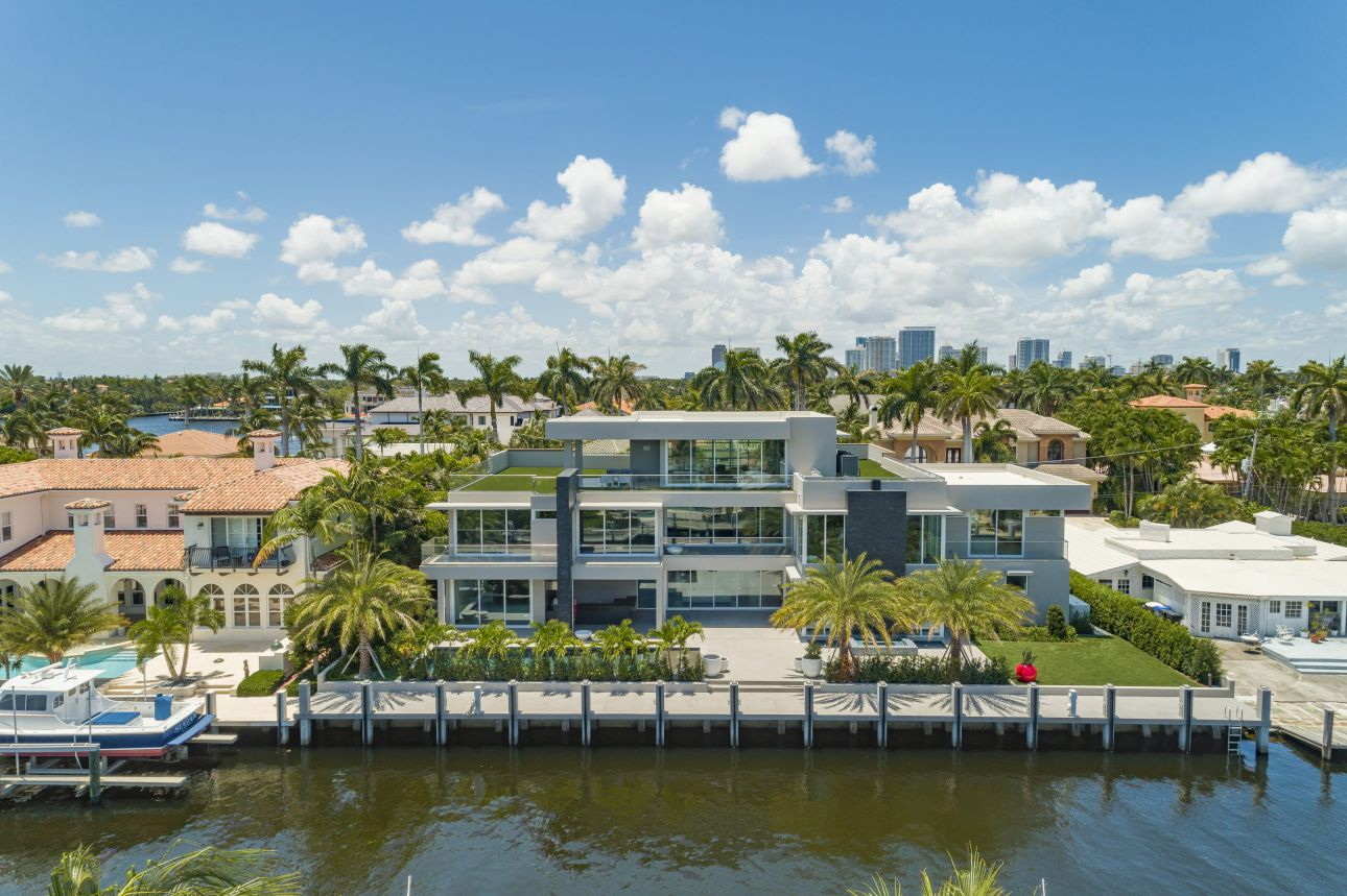 $10 Million Modern Home in Fort Lauderdale, Florida