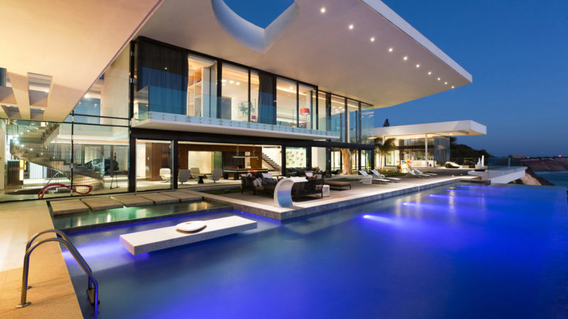 Superb Modern Villa Dakar Sow in Senegal by SAOTA