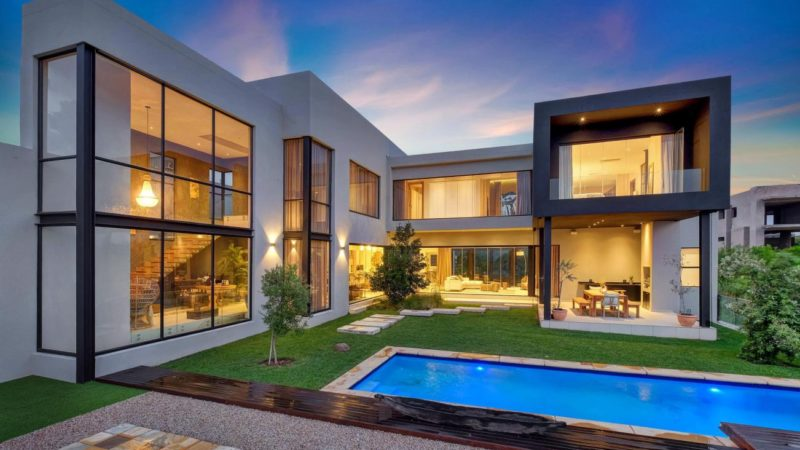 Entertainer's Dream Home with Breathtaking Views in Steyn City, South Africa
