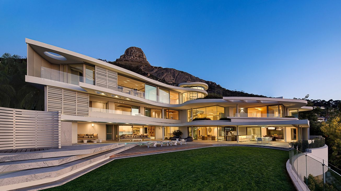 Amazing Lions View Mega Mansion in South Africa by SAOTA and ARRCC