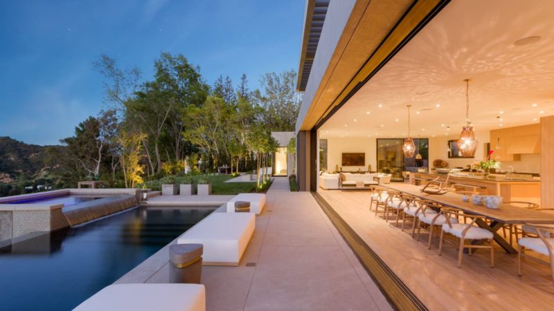 Tour of Bel Air Modern Estate Offering Sublime Views Rarely Seen in LA