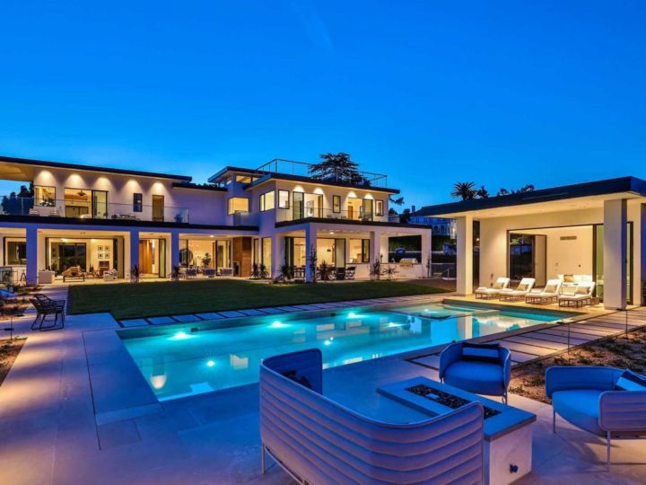 $130,000 per Month for Newly Built Contemporary Estate in Beverly Hills