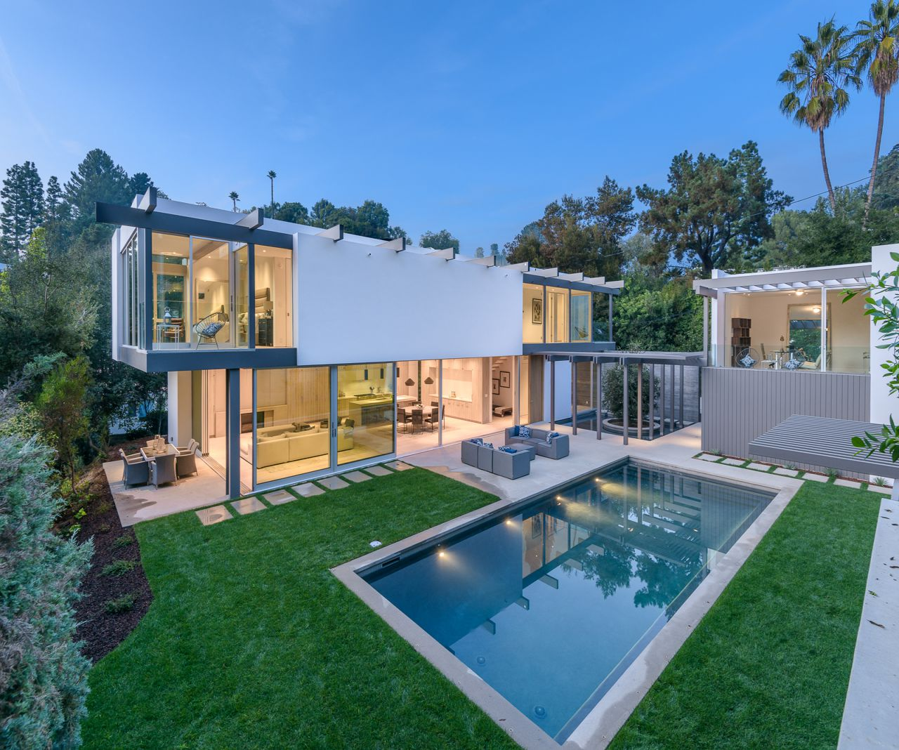 Brand New Bel Air Modern Contemporary Hits The Market for $5,595,000